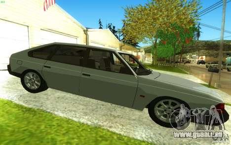 2141 AZLK v2.0 pour GTA San Andreas laissé vue