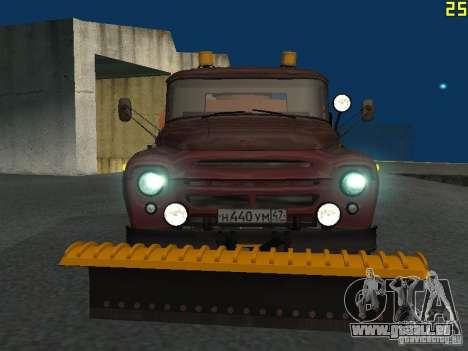 Ko-829 sur beta ZIL-130-châssis de camion pour GTA San Andreas laissé vue