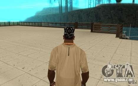Compétences de bandana pour GTA San Andreas troisième écran