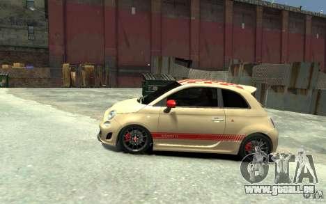 Fiat 500 Abarth Esseesse V1.0 pour GTA 4 est une gauche
