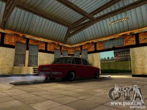 VAZ 2106 vieux pour GTA San Andreas sur la vue arrière gauche