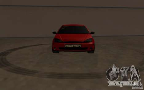 Ford Focus Light Tuning pour GTA San Andreas vue intérieure