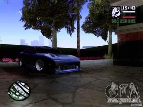 Nissan 180SX für GTA San Andreas Innenansicht