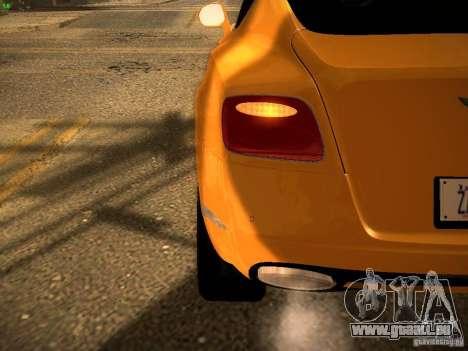 Bentley Continental GT 2011 für GTA San Andreas Seitenansicht