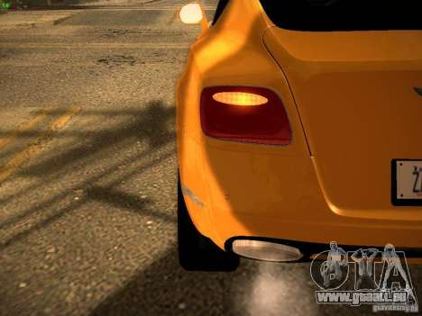 Bentley Continental GT 2011 pour GTA San Andreas vue de côté