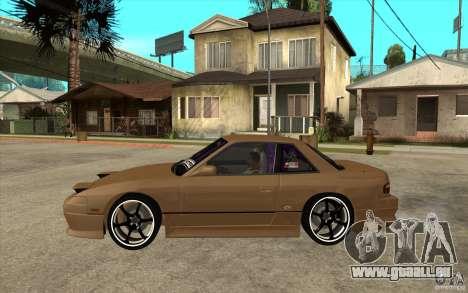 Nissan Silvia S13 Onevia Tuned pour GTA San Andreas laissé vue