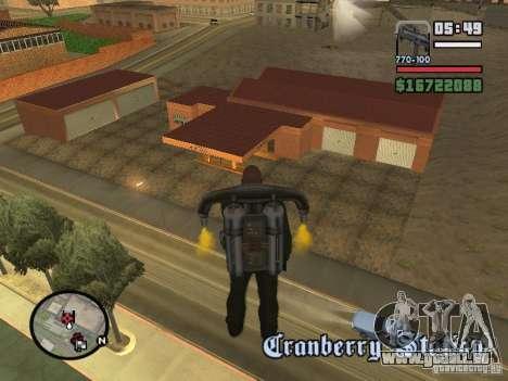 Neue Garage in Dorothy für GTA San Andreas zweiten Screenshot
