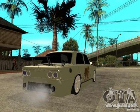VAZ 2101 D-LUXE für GTA San Andreas zurück linke Ansicht