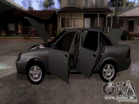 LADA Priora 2170 pour GTA San Andreas vue arrière