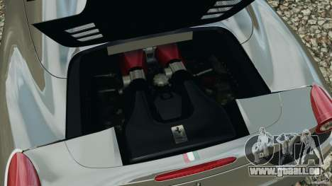 Ferrari 458 Spider 2013 v1.01 pour GTA 4 est un côté