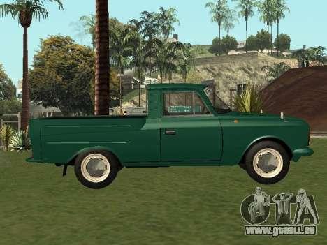 IZH 27151 PickUp pour GTA San Andreas laissé vue