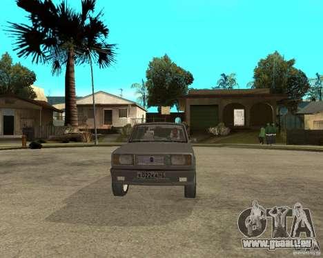 VAZ 2105 Limousine pour GTA San Andreas vue arrière