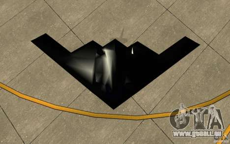 B2-Stealth für GTA San Andreas Rückansicht