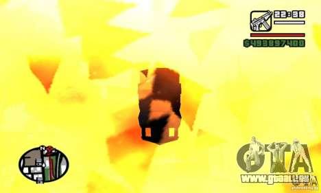 Véhicules RC pour GTA San Andreas deuxième écran