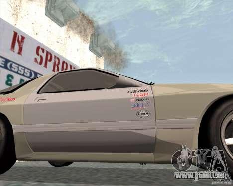 Mazda Savanna RX-7 FC3S pour GTA San Andreas vue de droite