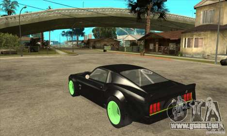 Ford Mustang RTR-X 1969 pour GTA San Andreas vue arrière