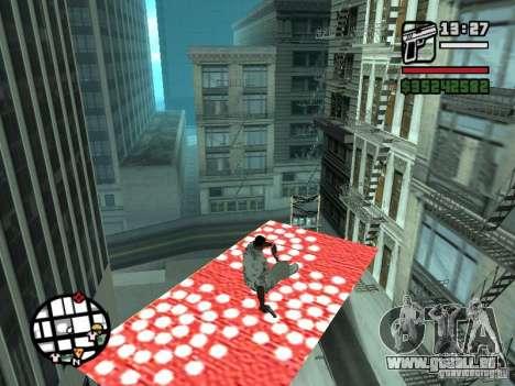Fliegender Teppich für GTA San Andreas zweiten Screenshot