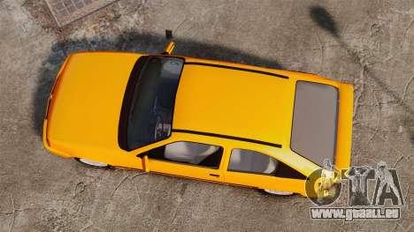 Opel Kadett GL 1.8 1996 pour GTA 4 est un droit