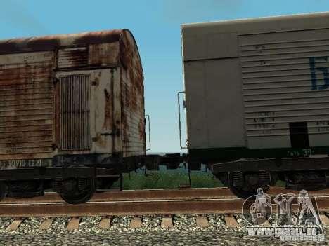 Refrežiratornyj wagon Dessau n5 prima audit pour GTA San Andreas vue arrière