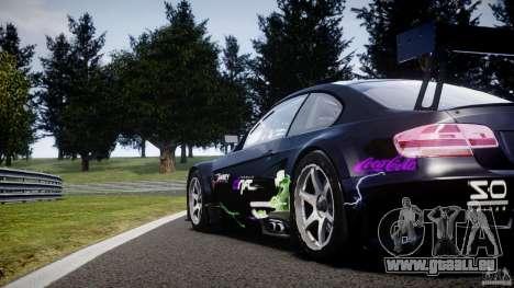 BMW M3 GT2 Drift Style pour GTA 4 Salon