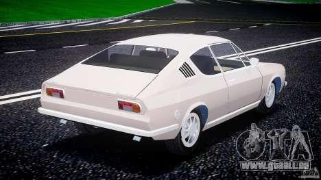 Audi 100 Coupe S pour GTA 4 Vue arrière de la gauche
