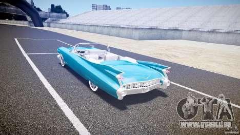 Cadillac Eldorado 1959 interior white für GTA 4 rechte Ansicht