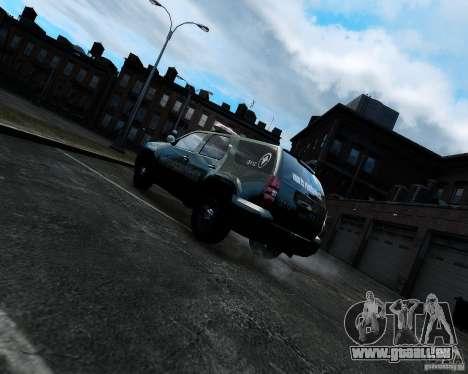 Chevrolet Tahoe Hungarian Vam-Zoll Custom für GTA 4 hinten links Ansicht
