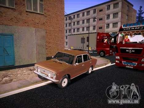 VAZ 21011 pour GTA San Andreas vue de droite