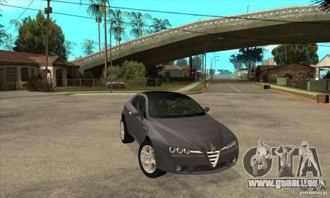Alfa Romeo Brera von NFSC für GTA San Andreas Rückansicht