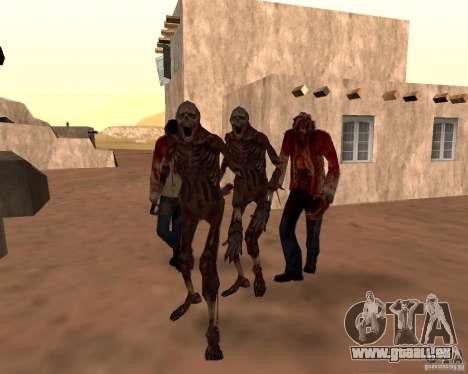 Zombie Half life 2 pour GTA San Andreas huitième écran
