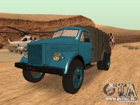 GAZ 51 Müllwagen für GTA San Andreas