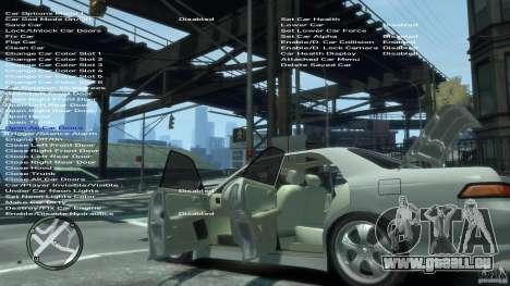Toyota Mark 2 JZX 90 für GTA 4 Unteransicht
