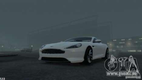 Aston Martin Virage 2012 v1.0 für GTA 4-Motor