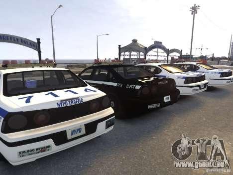 Chevrolet Impala 2003 NYPD V2.0 pour GTA 4 est une vue de l'intérieur