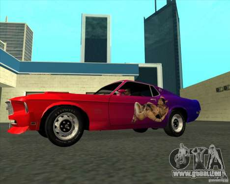 Ford Mustang Boss 429 1969 pour GTA San Andreas