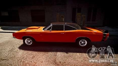 Dodge Charger RT 1969 sport de tun v1.1 pour GTA 4 est une gauche