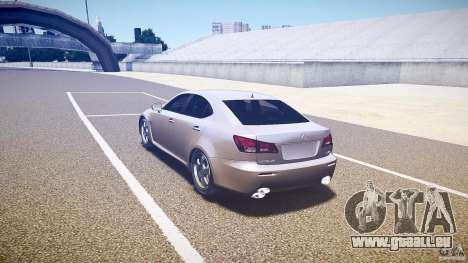 Lexus IS F pour GTA 4 est un droit