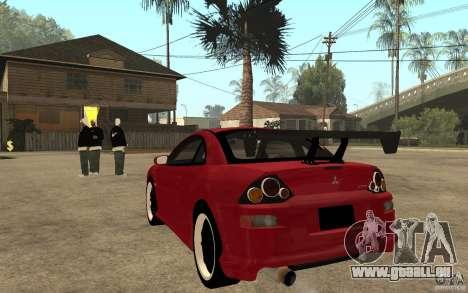 Mitsubishi Eclipse 2003 V1.0 pour GTA San Andreas sur la vue arrière gauche