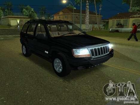 Jeep Grand Cherokee pour GTA San Andreas
