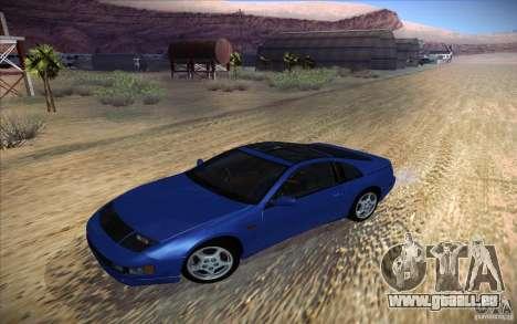 Nissan 300ZX Twin Turbo pour GTA San Andreas vue de côté