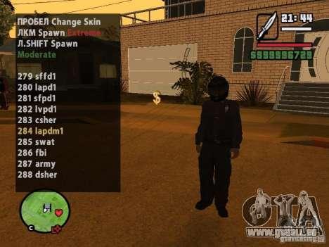 GTA IV peds to SA pack 100 peds pour GTA San Andreas deuxième écran