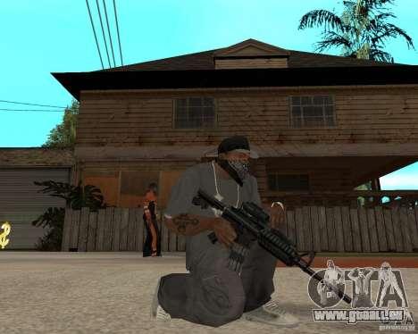 M16 de très haute qualité pour GTA San Andreas deuxième écran