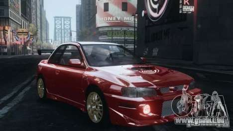 Subaru Impreza 22B 1998 pour GTA 4 est une gauche