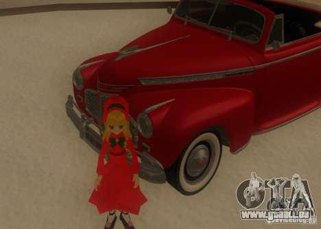 Anime Characters für GTA San Andreas sechsten Screenshot