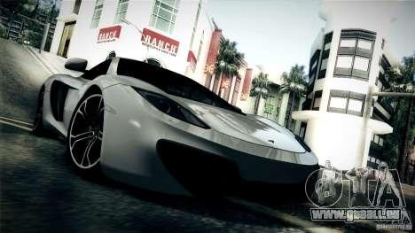 McLaren MP4-12C 2012 für GTA San Andreas