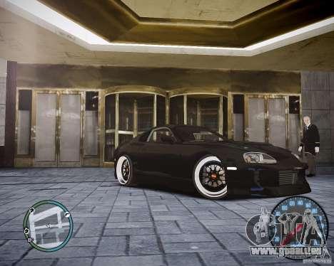 TOYOTA JZA80 SUPRA für GTA 4 linke Ansicht