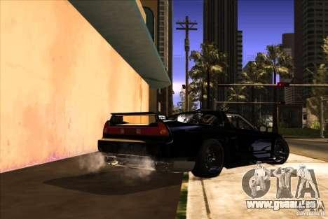 Acura NSX Tuned pour GTA San Andreas vue de côté