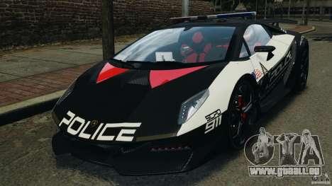 Lamborghini Sesto Elemento 2011 Police v1.0 RIV pour GTA 4