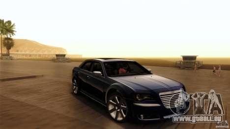 Chrysler 300C V8 Hemi Sedan 2011 pour GTA San Andreas vue de côté