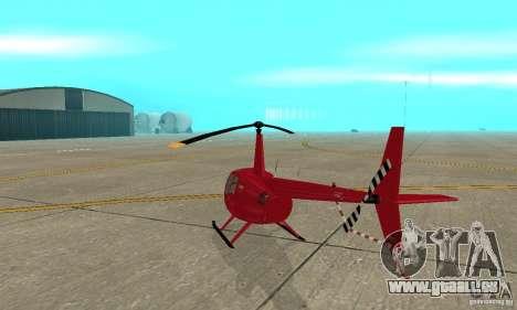 Robinson R44 Raven II NC 1.0 1 de la peau pour GTA San Andreas vue de droite